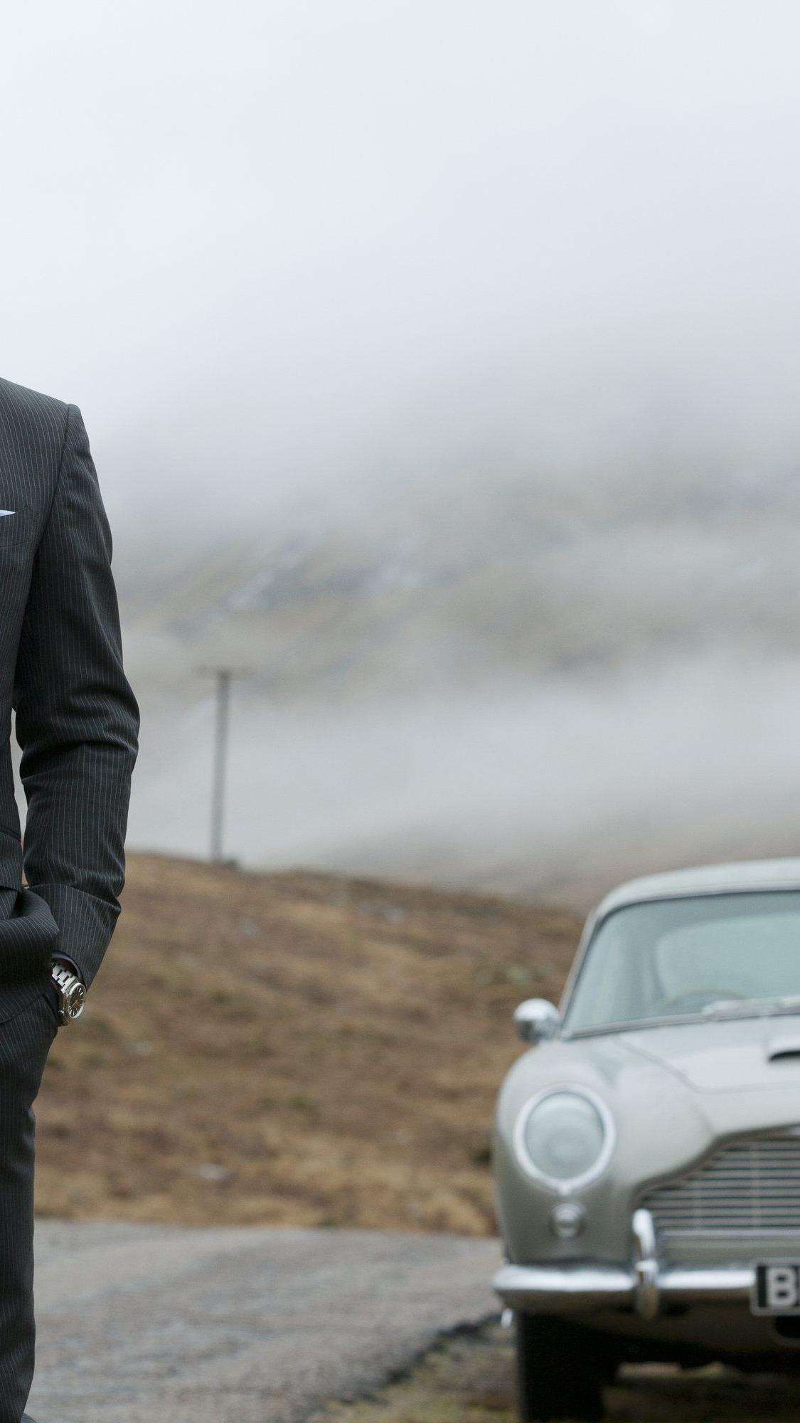 """Daniel Craig ist auch im 24. 007-Film (""""Spectre"""") James Bond."""