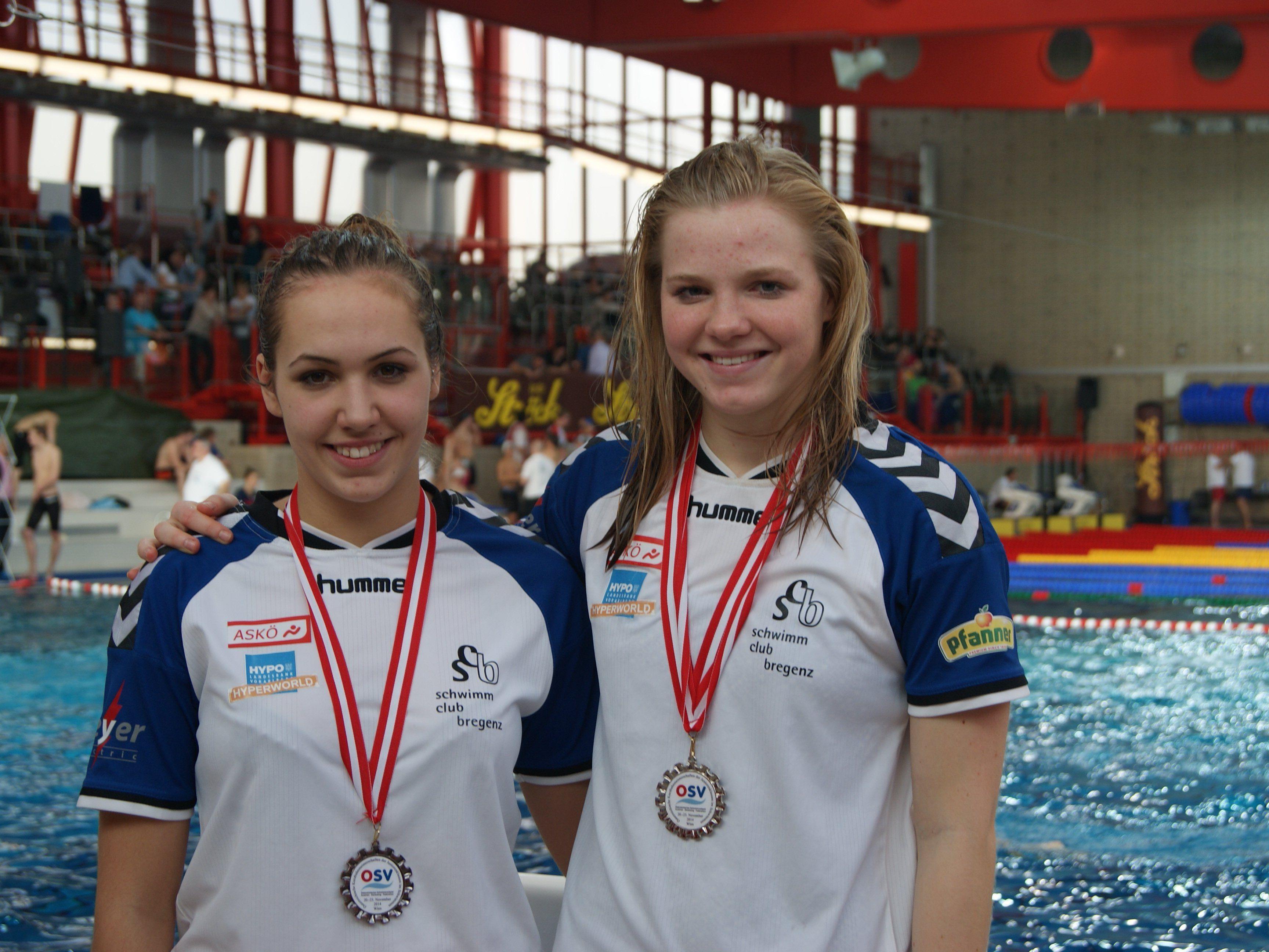 Celina Lutter und Johanna Wimmer