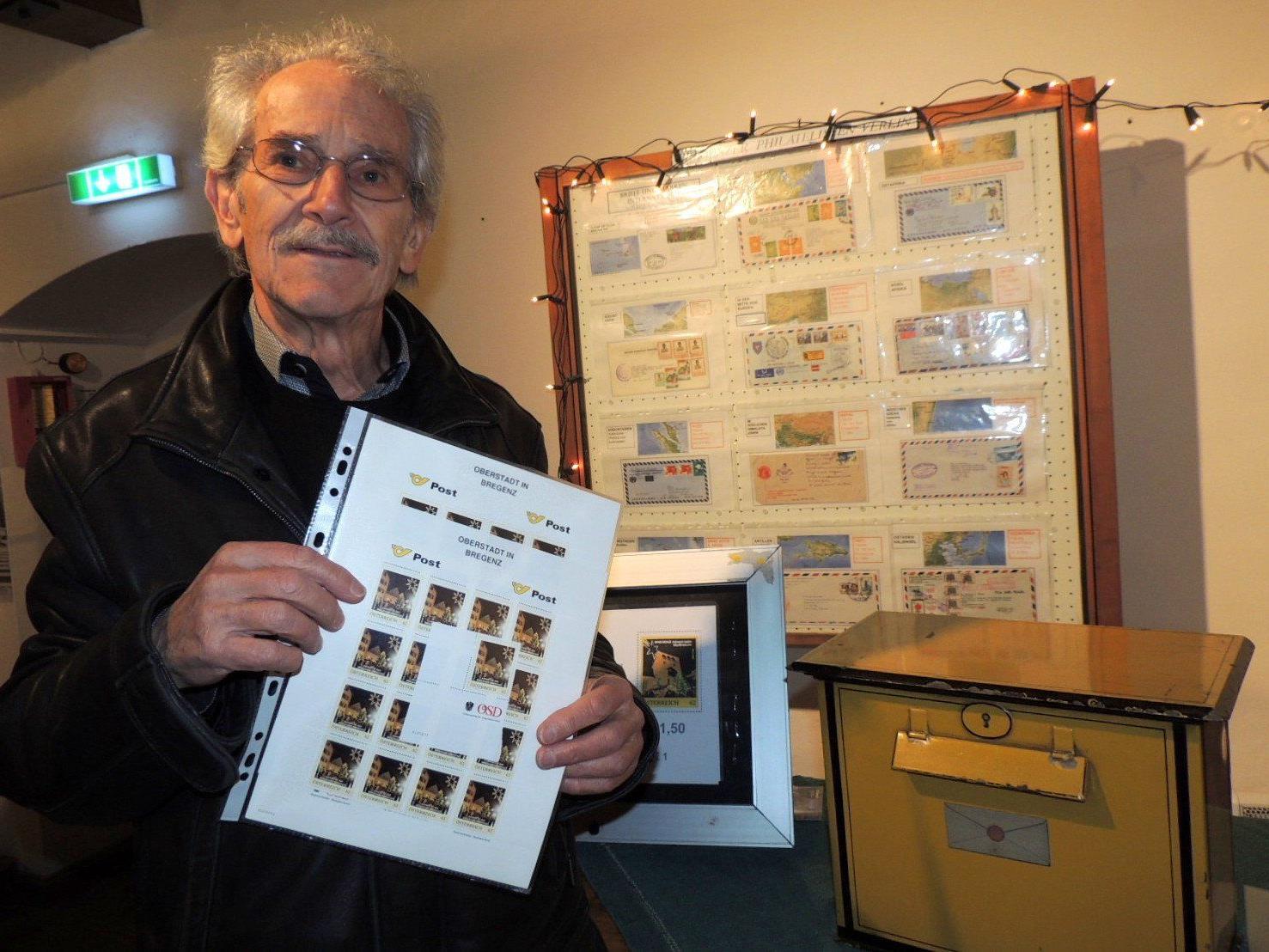 Curd Huber, Mitglied des Cameraclub Sparkasse Bregenz, schuf die neue Weihnachtsbriefmarke