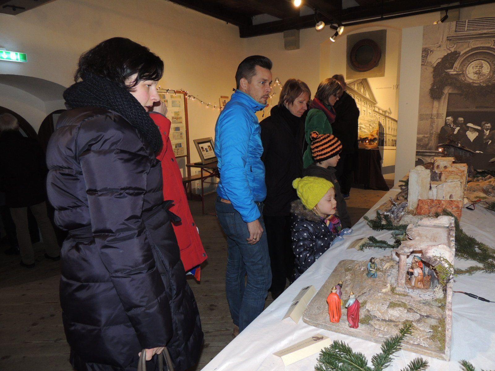Großes Besucherinteresse an der Krippenausstellung