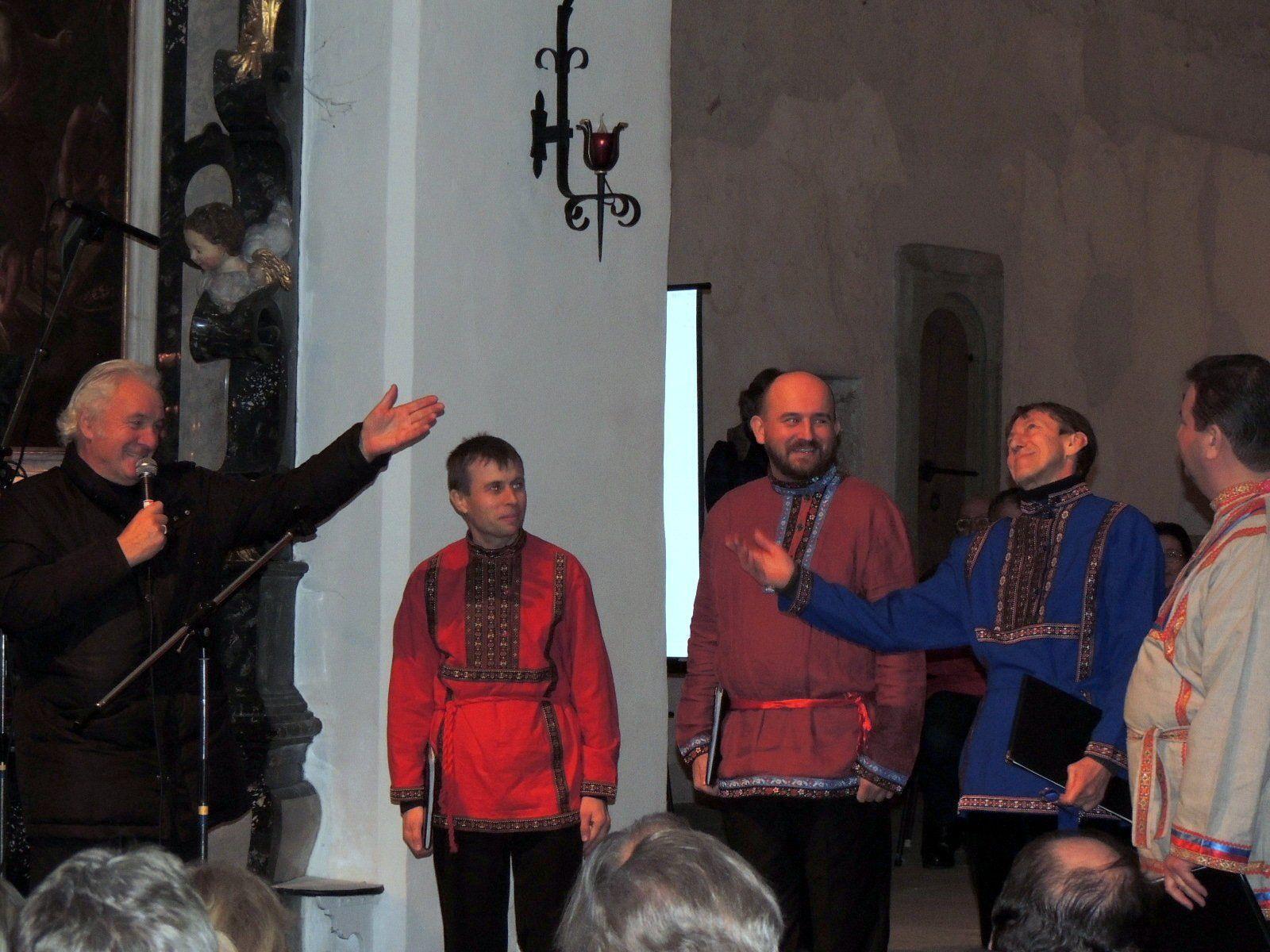 Organisator Mag. Gunnar Breuer dankte dem St. Daniel Quartett für seine wunderbaren Melodien