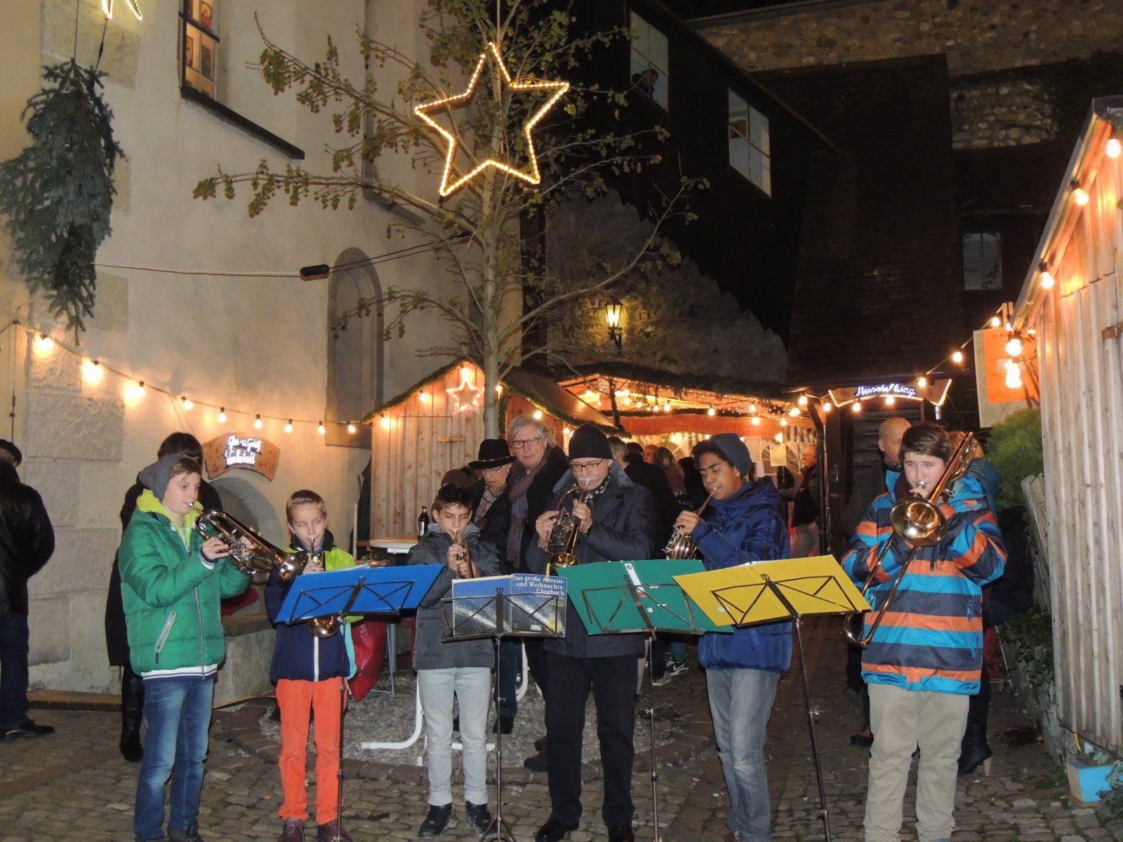 Blechbläserensemble der Musikmittelschule Bregenz