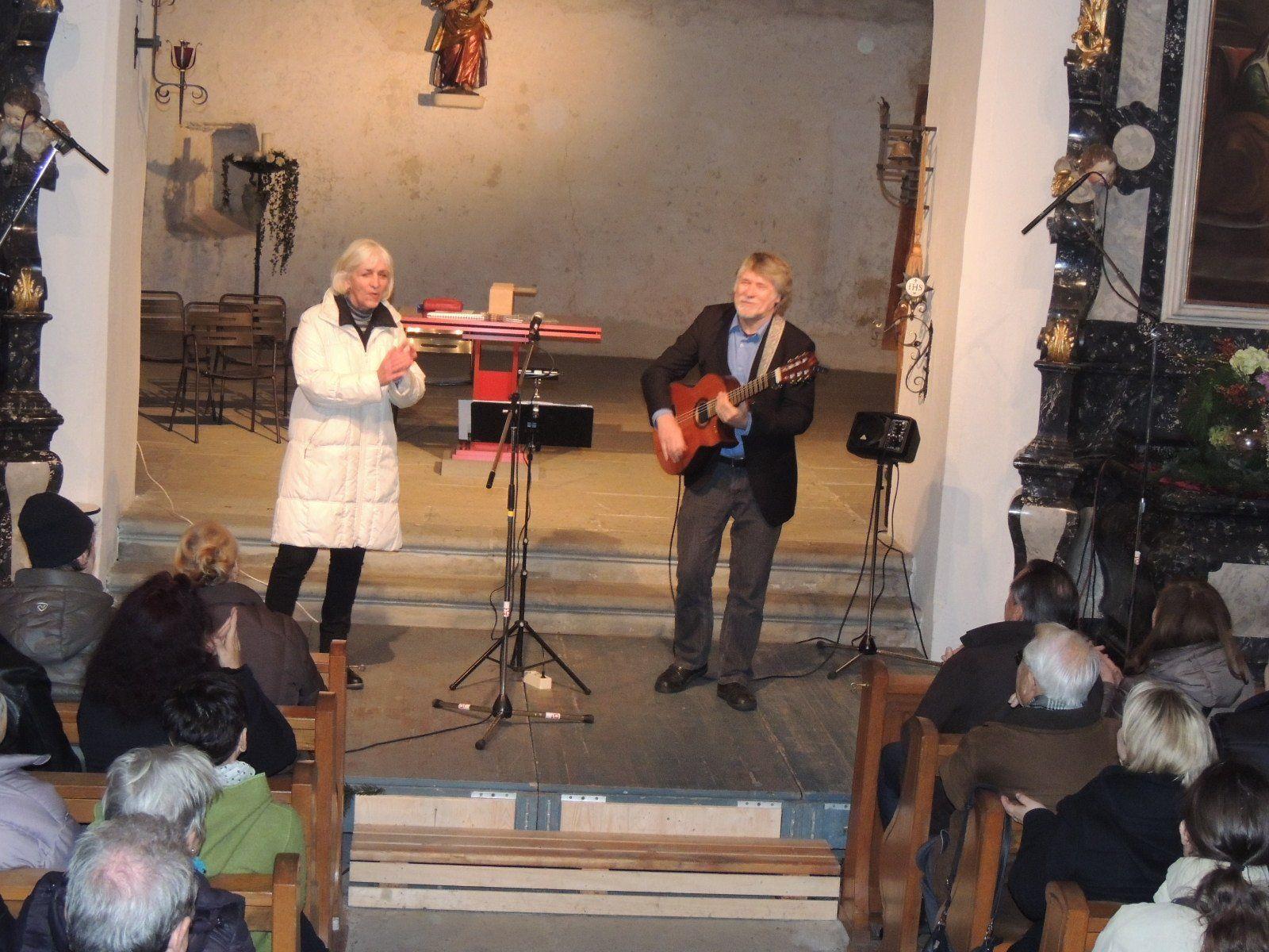 Unterhaltsames Konzert in der Martinskapelle