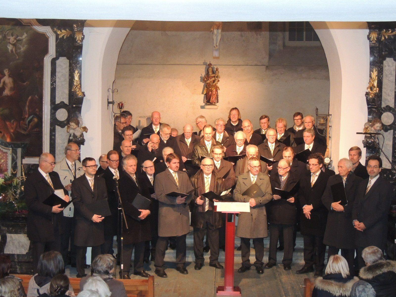 Bregenzer Männerchor sang in der Martinskapelle