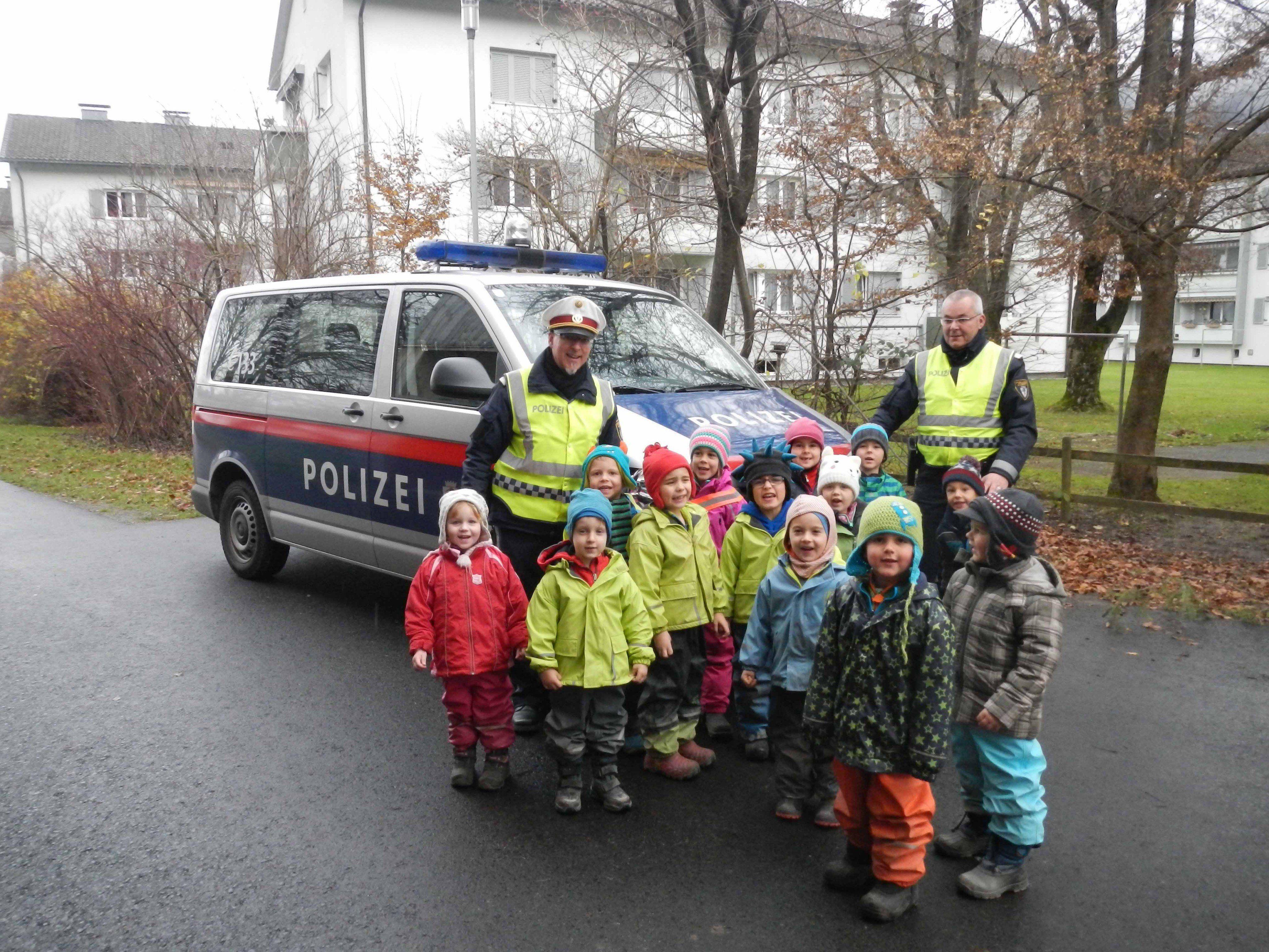 Waldlüxe erhielten den Kindergarten- Verkehrsschein