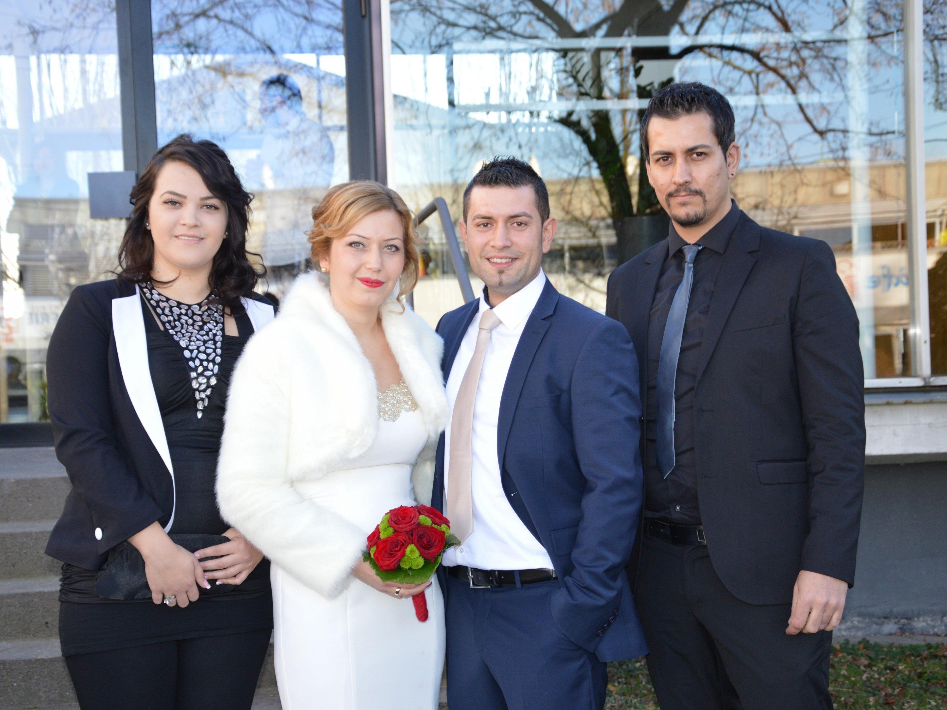 Hümeyra Kaya und Kadir Mutun haben geheiratet