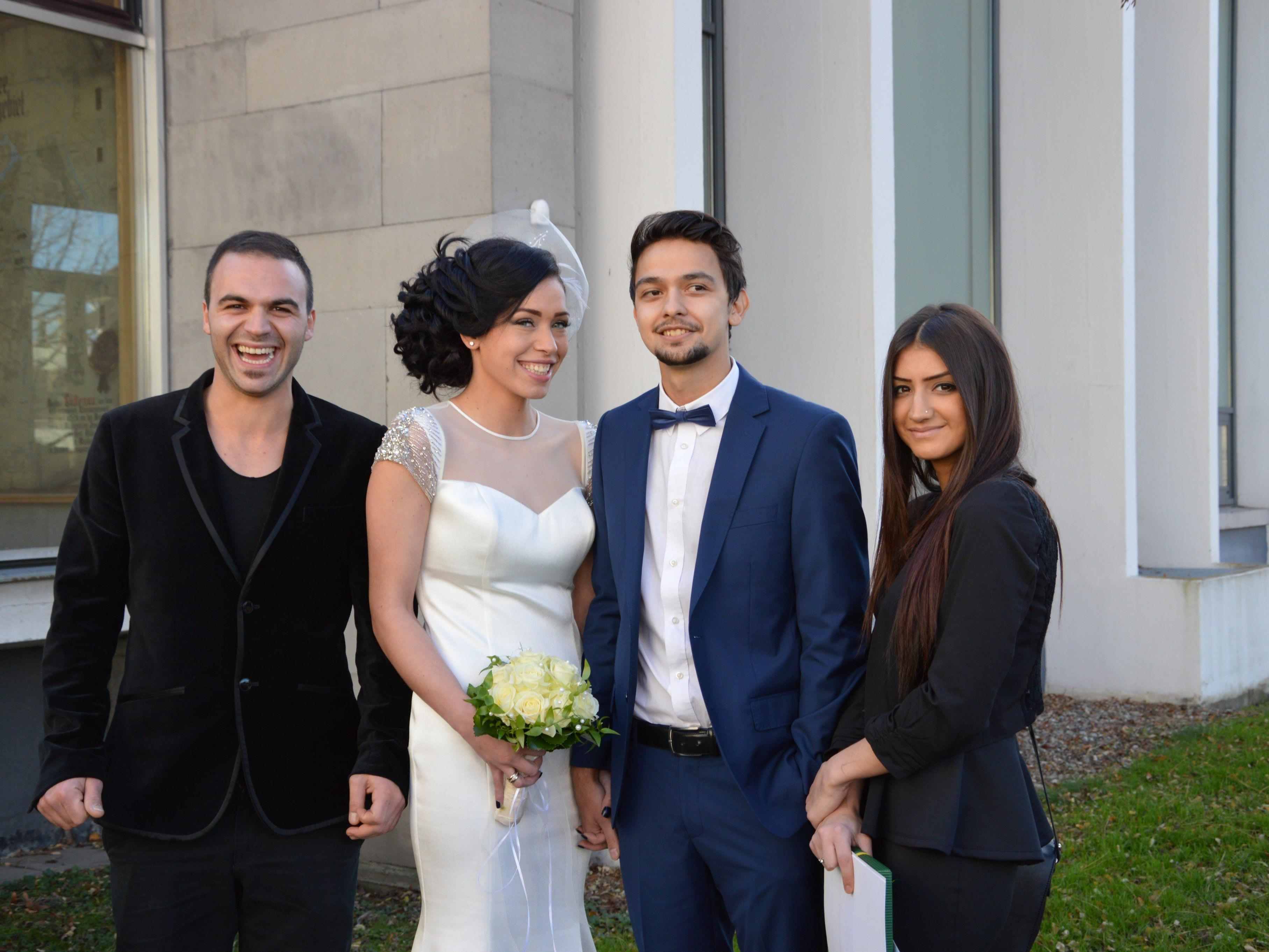 Sebile Demir und Osman Varoglu haben geheiratet