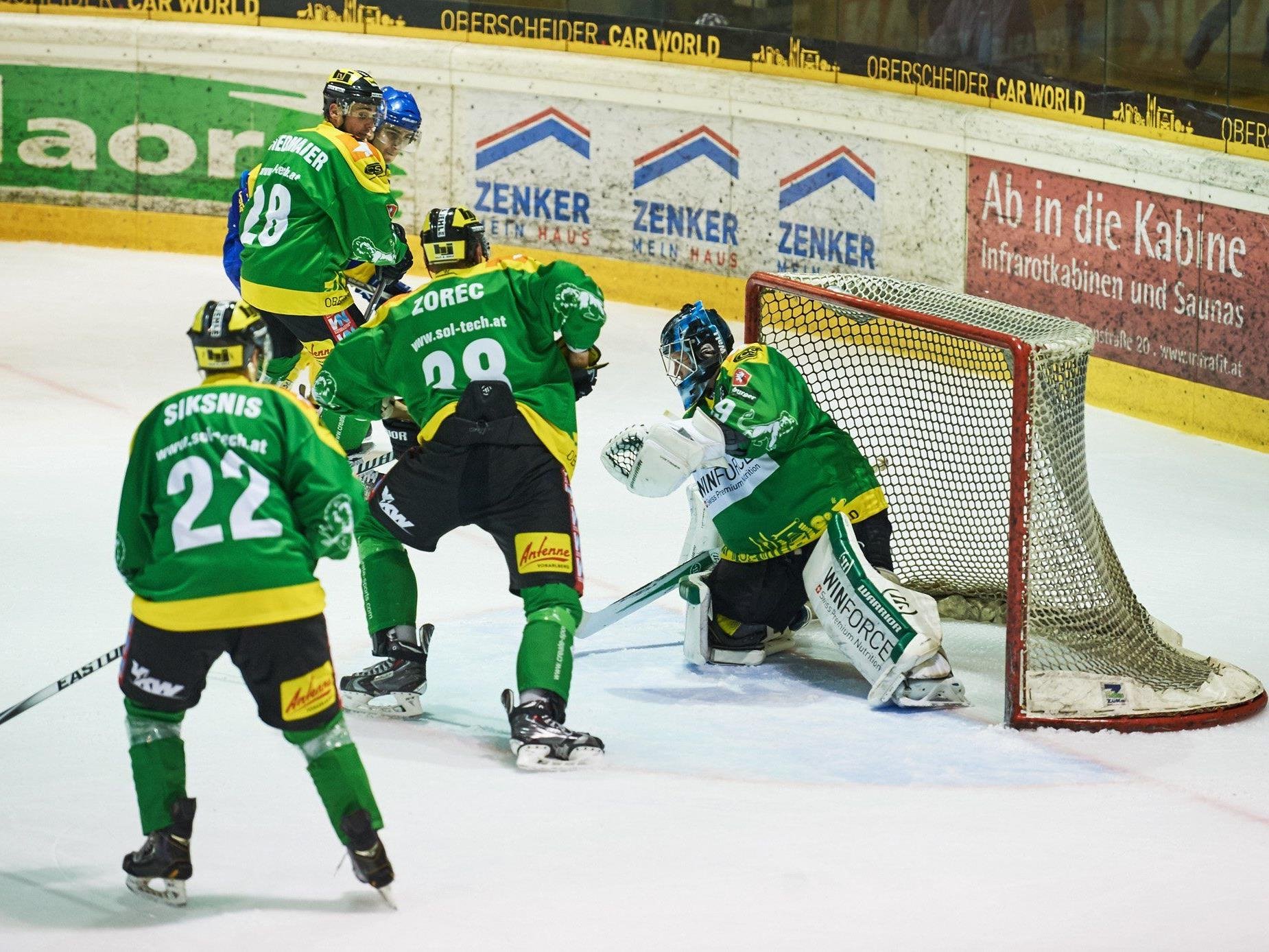 EHC Lustenau trifft im Ö-Cup auf Kitzbühel.