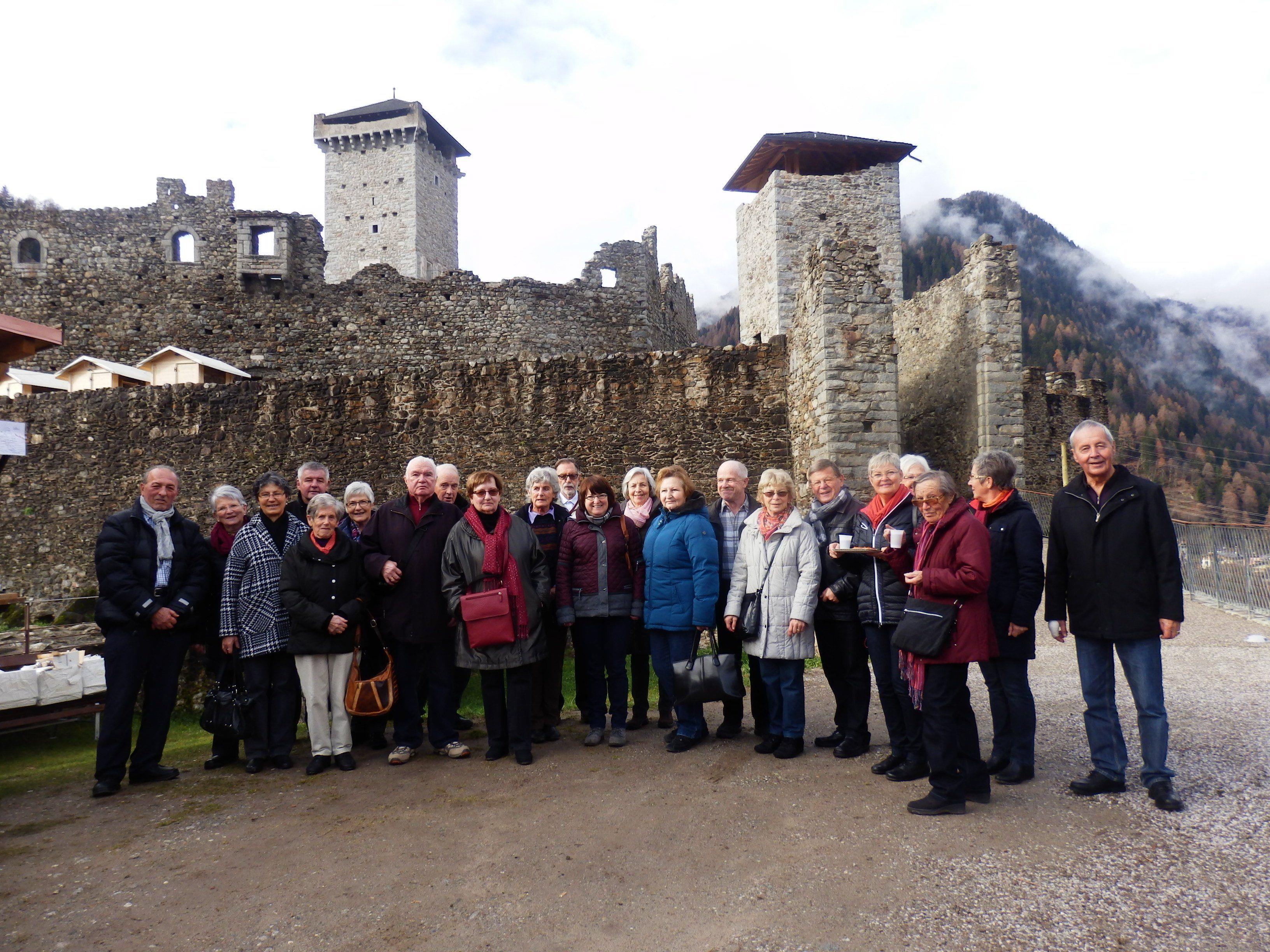 Bludenzer Senioren besuchten den Advent in Ossana.