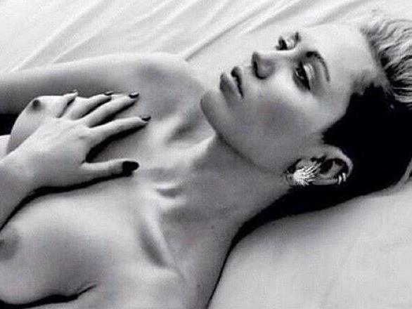 Mileys heißer Nippelprotest.