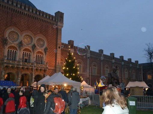 Mittelalterlicher Weihnachtsmarkt.Leserreporterin Besucht Mittelalter Weihnachtsmarkt Beim Hgm