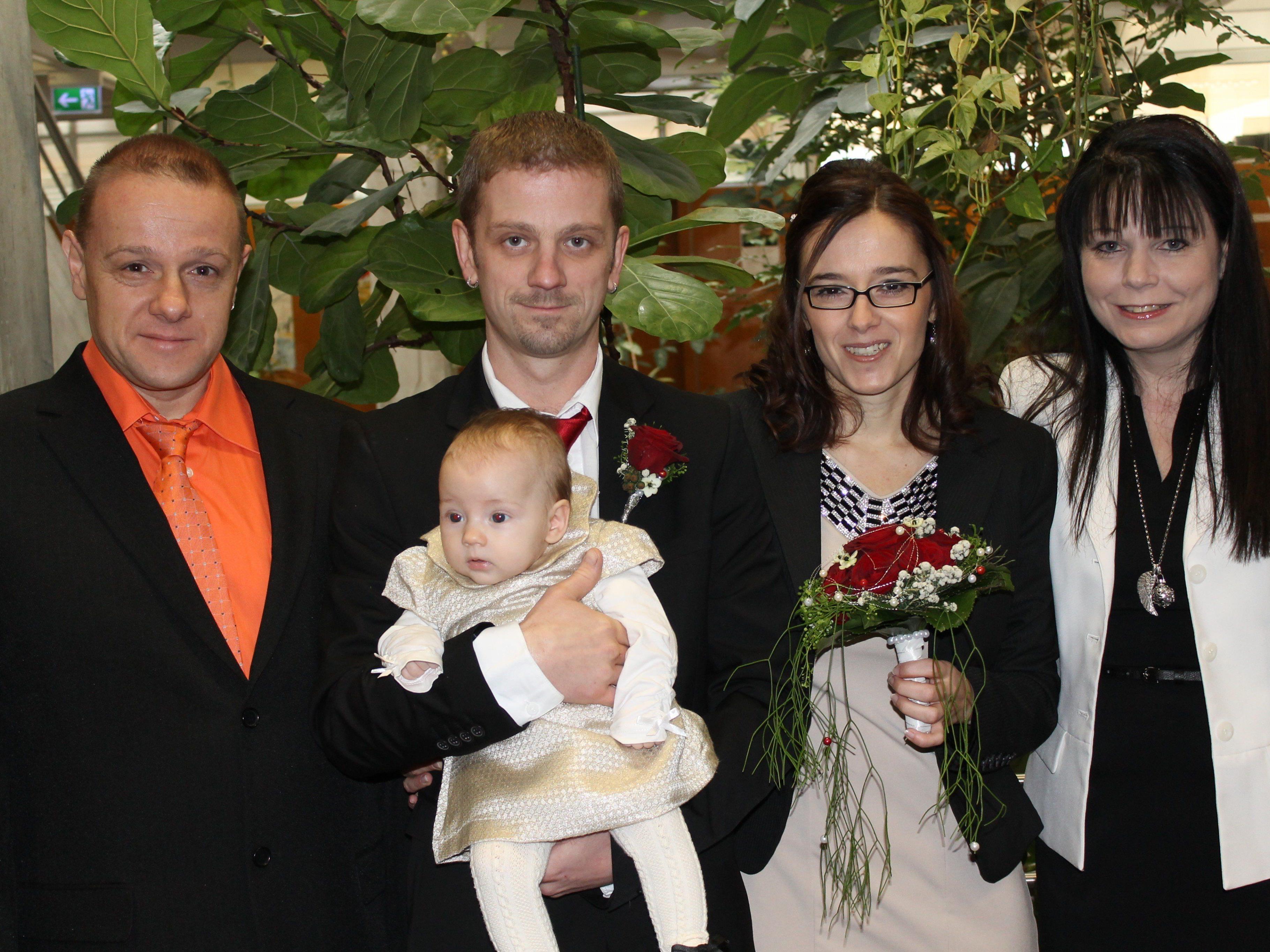 Betina Hofsteter und Günter Kaufman haben geheiratet