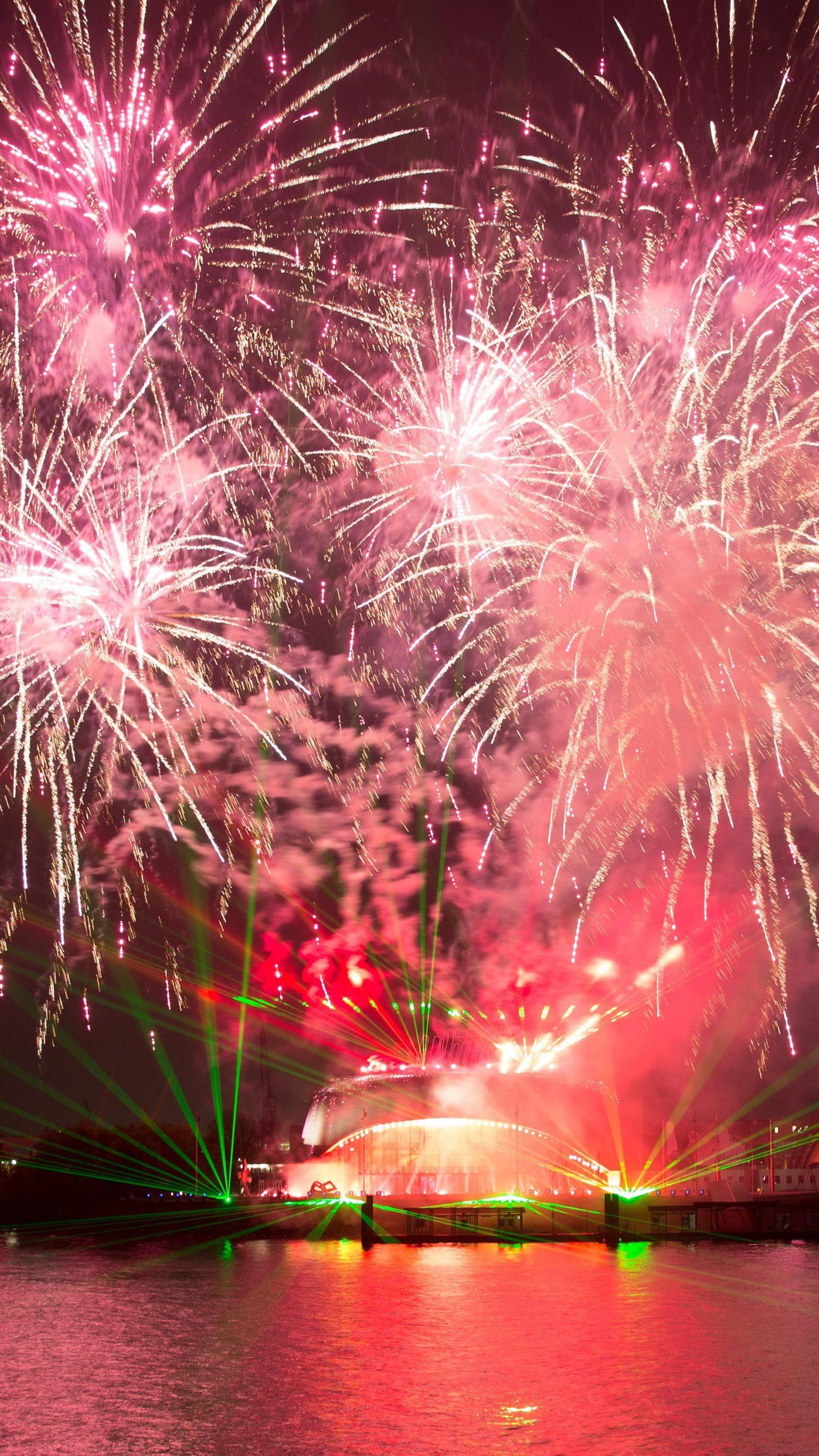 Die ganze Welt feiert ins neue Jahr.