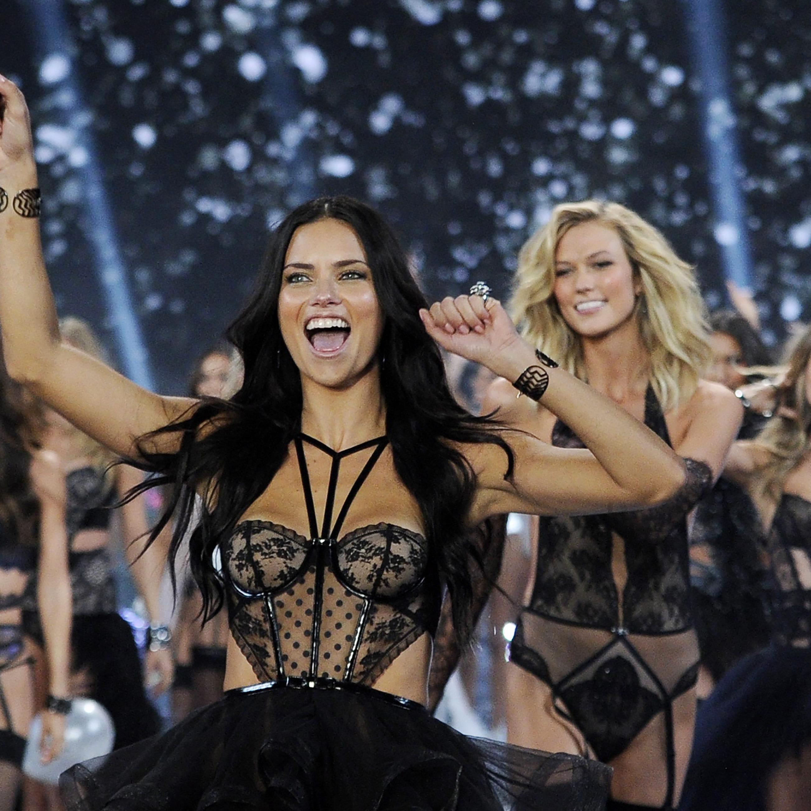 Die Victoria's Secret Models präsentierten wieder die sexy Dessous des Unterwäschelabels.