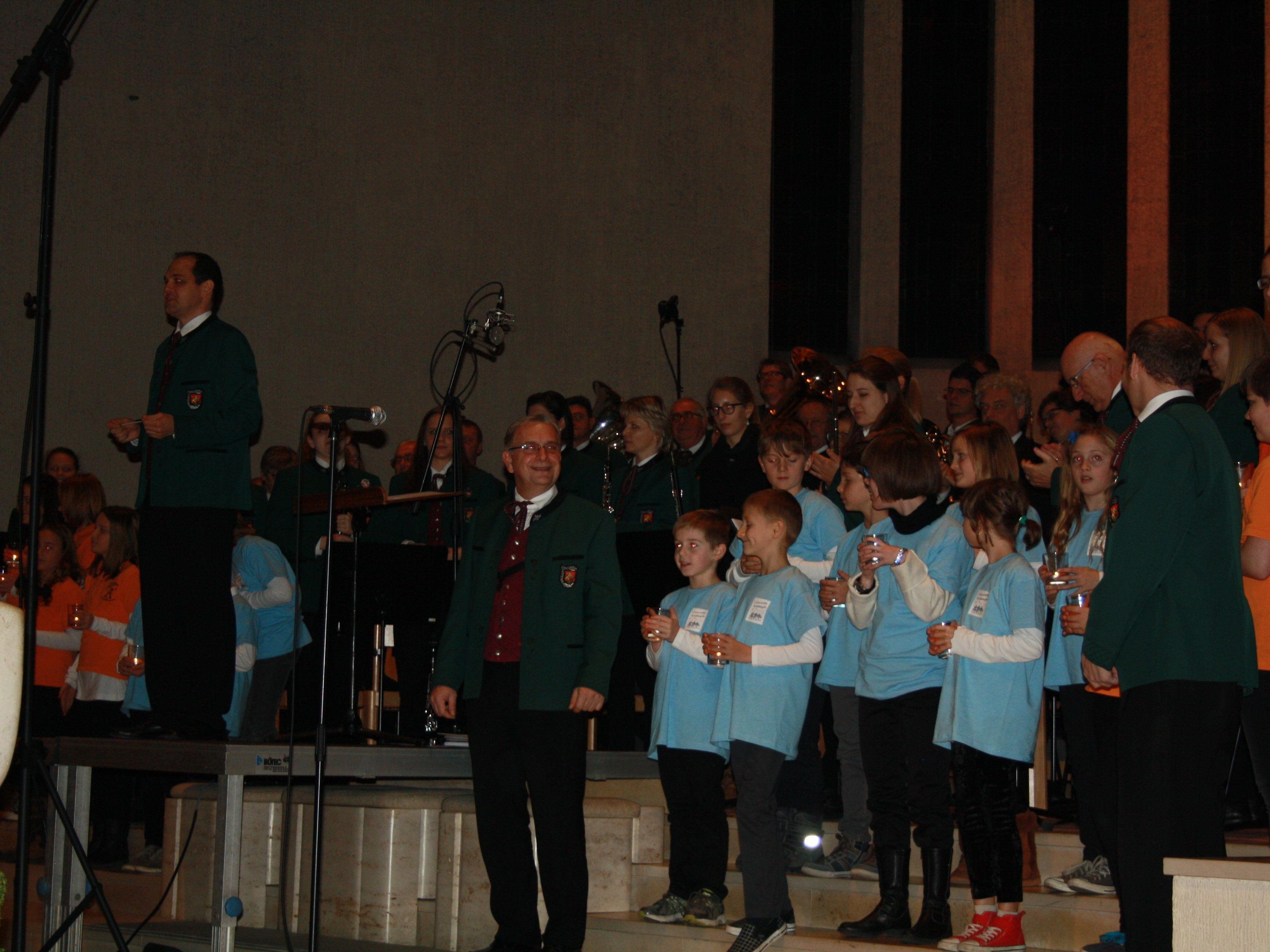 Das Adventskonzert des MV Concordia lockte zahlreiche Besucher in die Erlöserkirche.