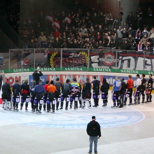 VEU Feldkirch hat viele treue Fans, auch in den beiden Heimspielen werden hunderte Zuschauer erwartet
