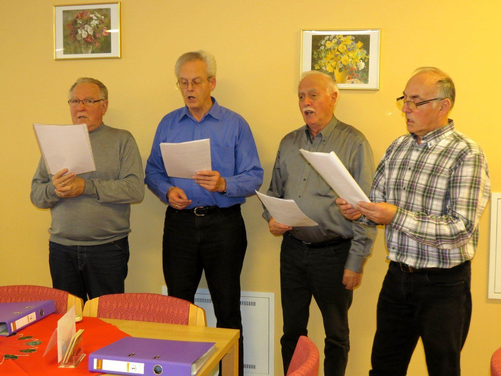 Senioren-Gesangsquartett