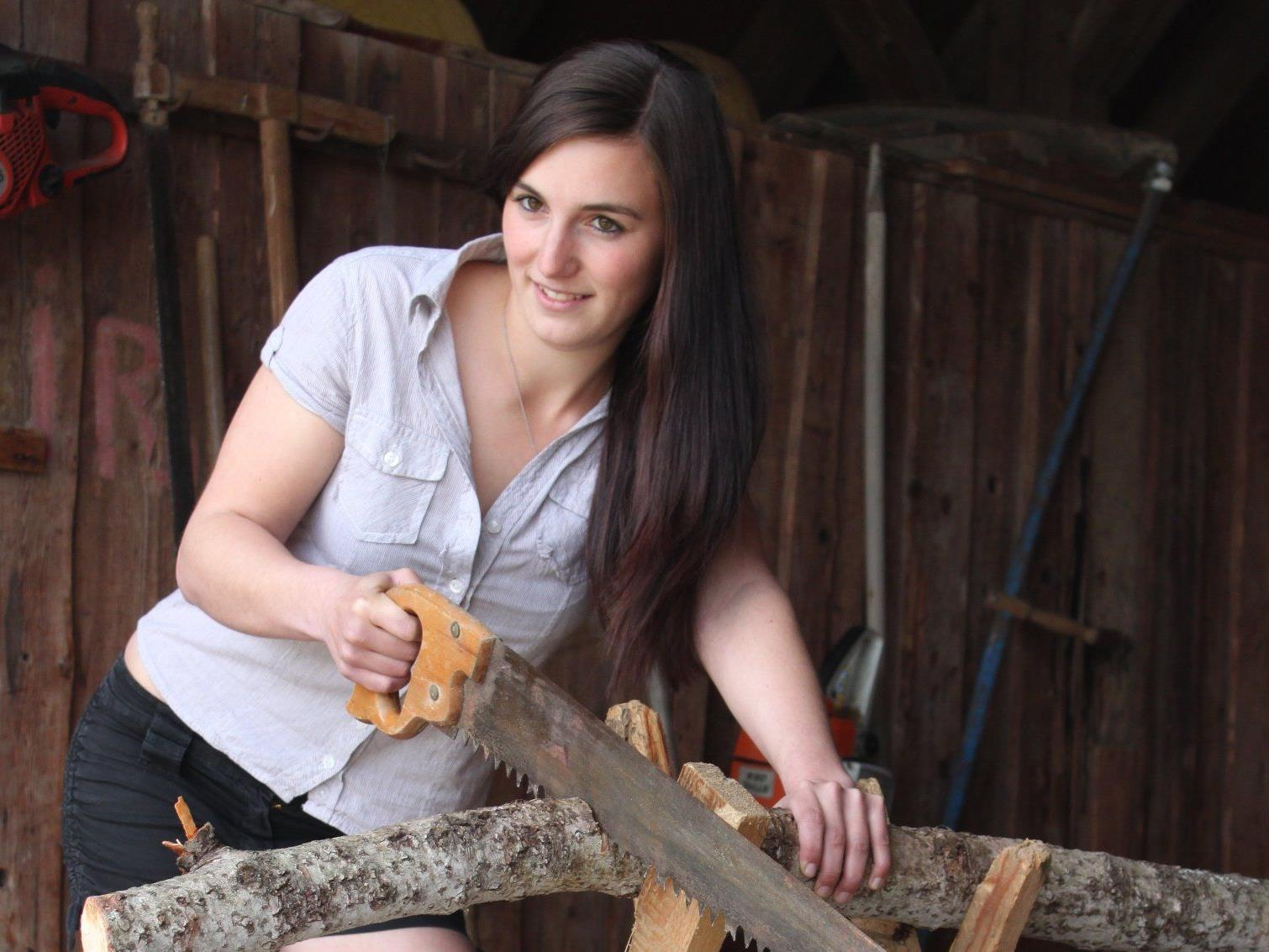 Johanna ist im Landjugendkalender das März-Model