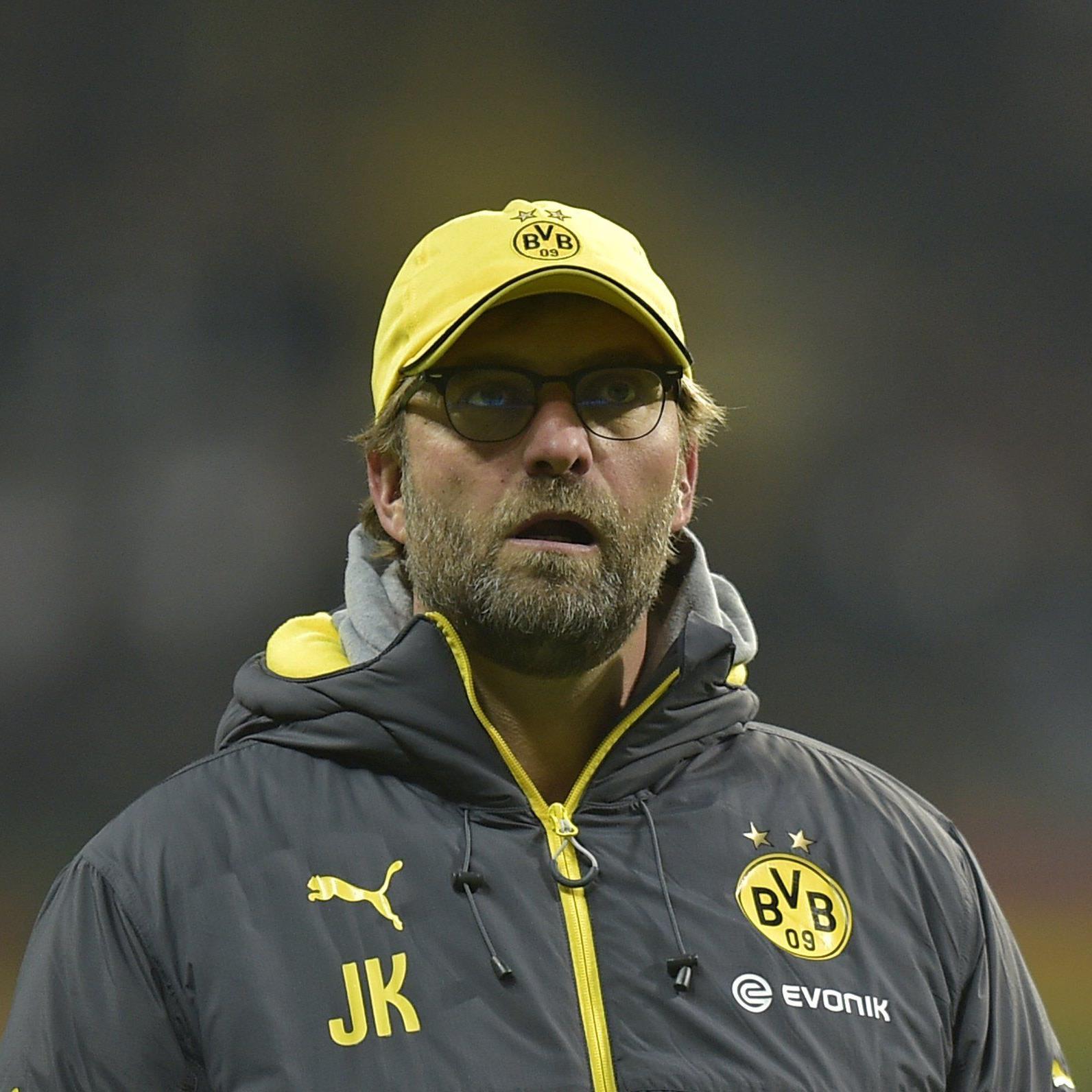 Dortmund-Trainer Jürgen Klopp denkt nicht an Rücktritt.