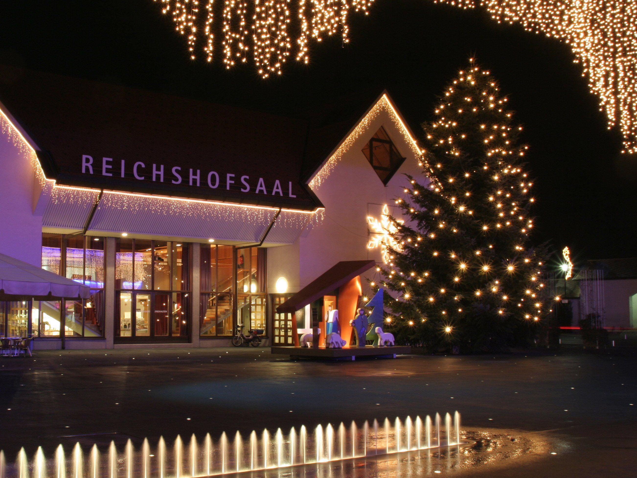 Auch heuer gibt es im Lustenauer Zentrum wieder einen gemütlichen Treffpunkt für die Adventzeit.