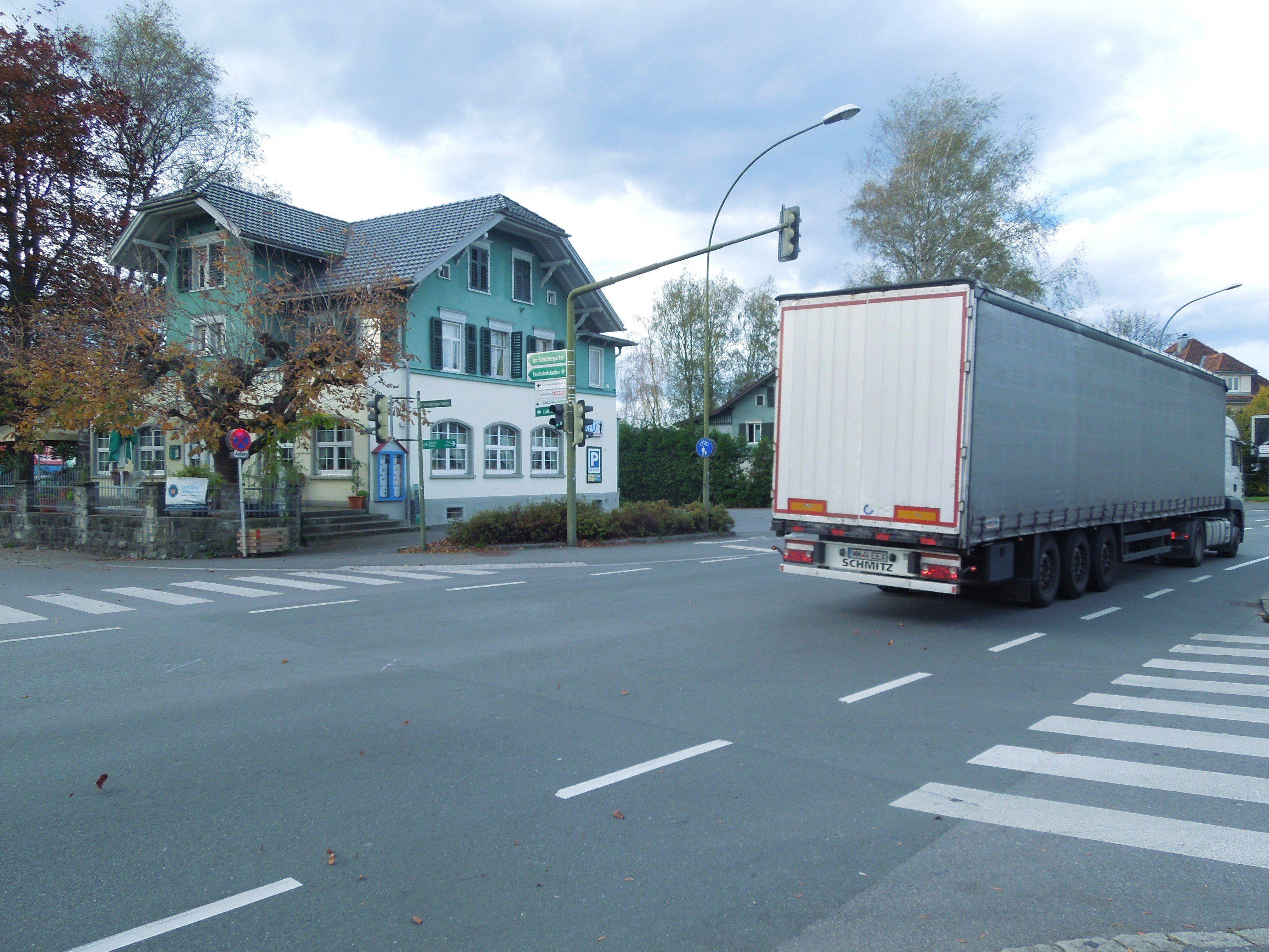 Die Ampelanlage auf der Reichshofstraße wurde nun überprüft.