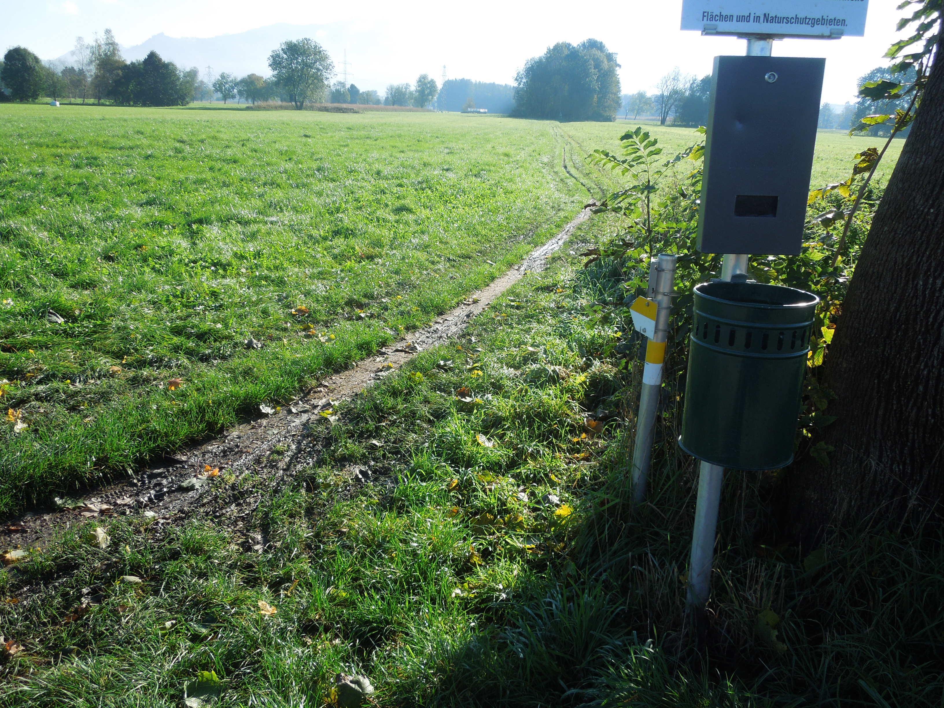Der Birkenseeweg soll wieder radtauglich gemacht werden.
