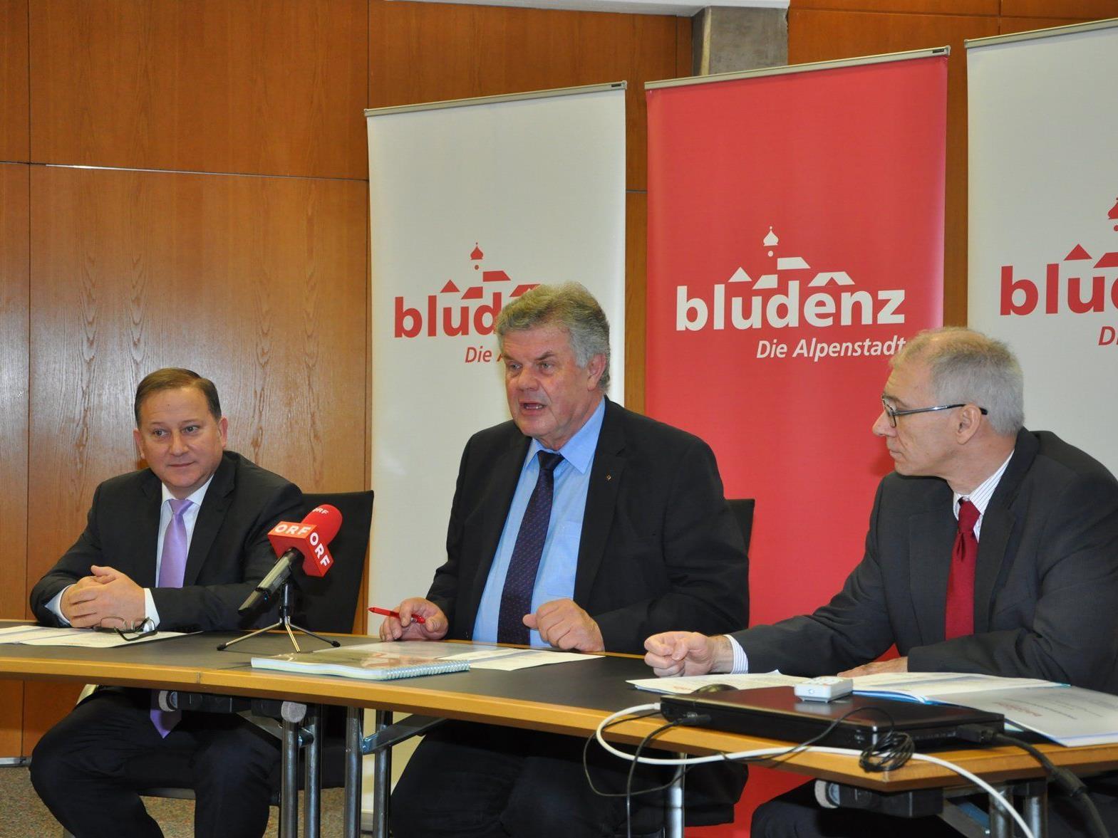 Am Mittwoch wurde das neue Budget der Stadt Bludenz für 2015 vorgestellt.
