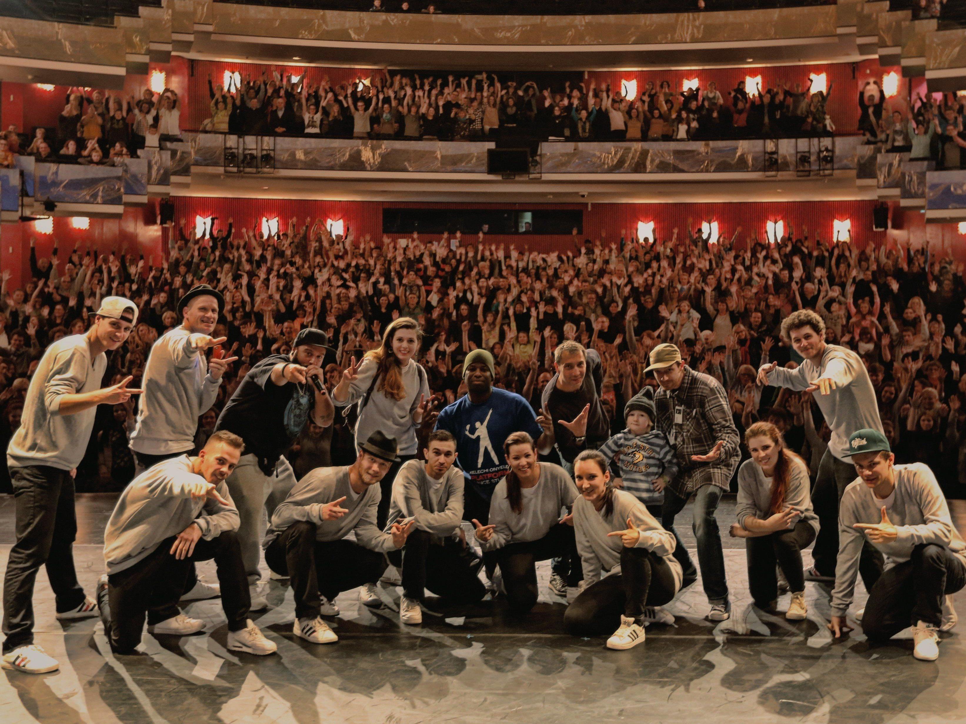 Die Prodigy Crew der FRK Dance School aus Dornbirn konnte auch heuer wieder in Ludwigshafen überzeugen.