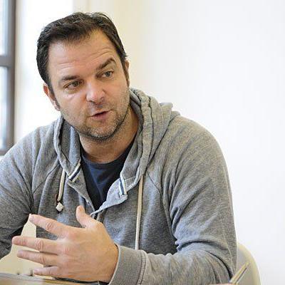 Martin Rütter beim Interview in Wien