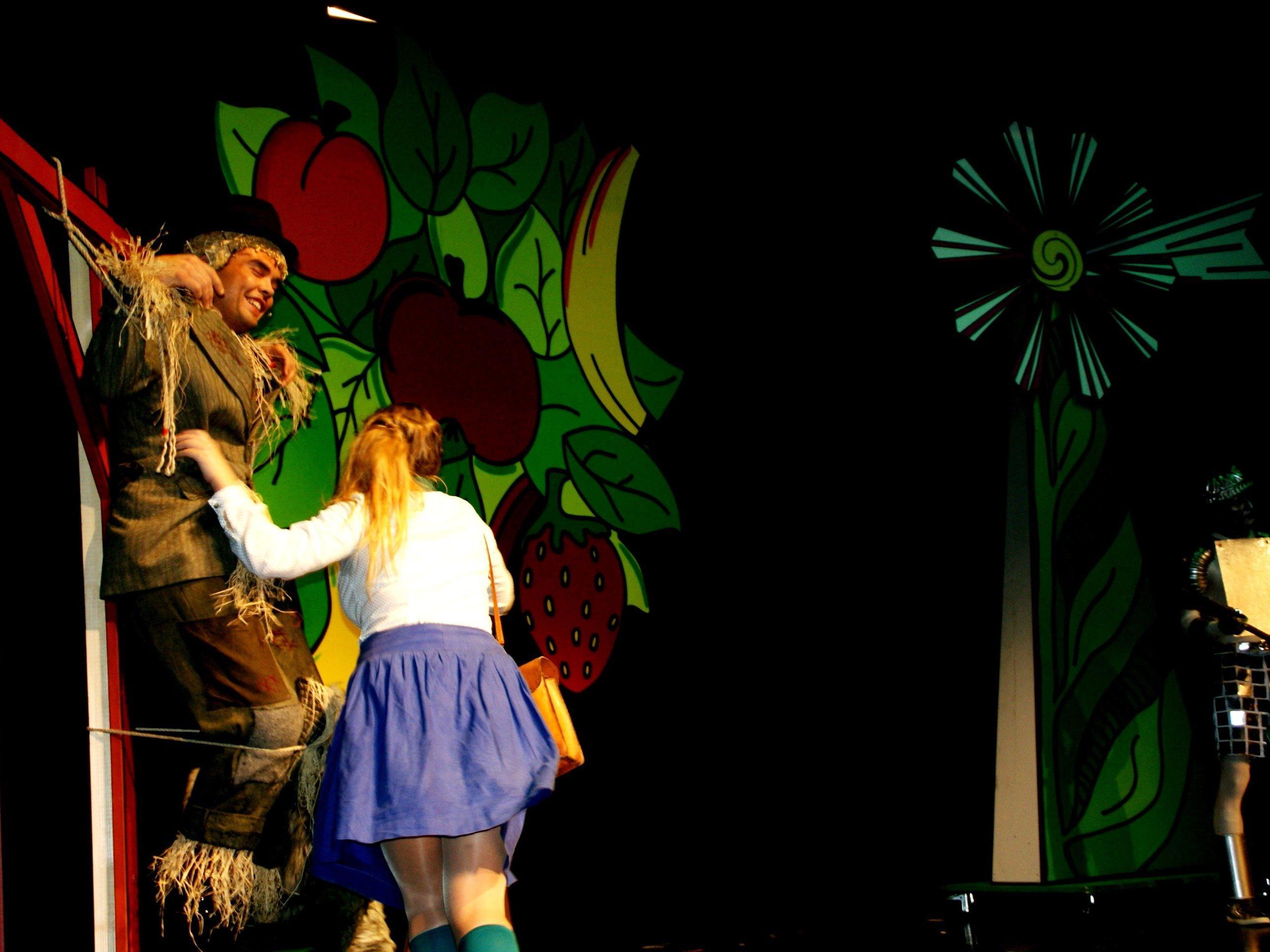 Bunte Inszenierung des Zauberers von Oz