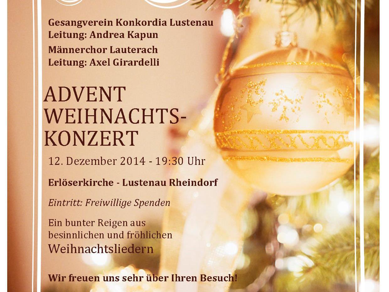 Einstimmung in die Advent- und Weihnachtszeit