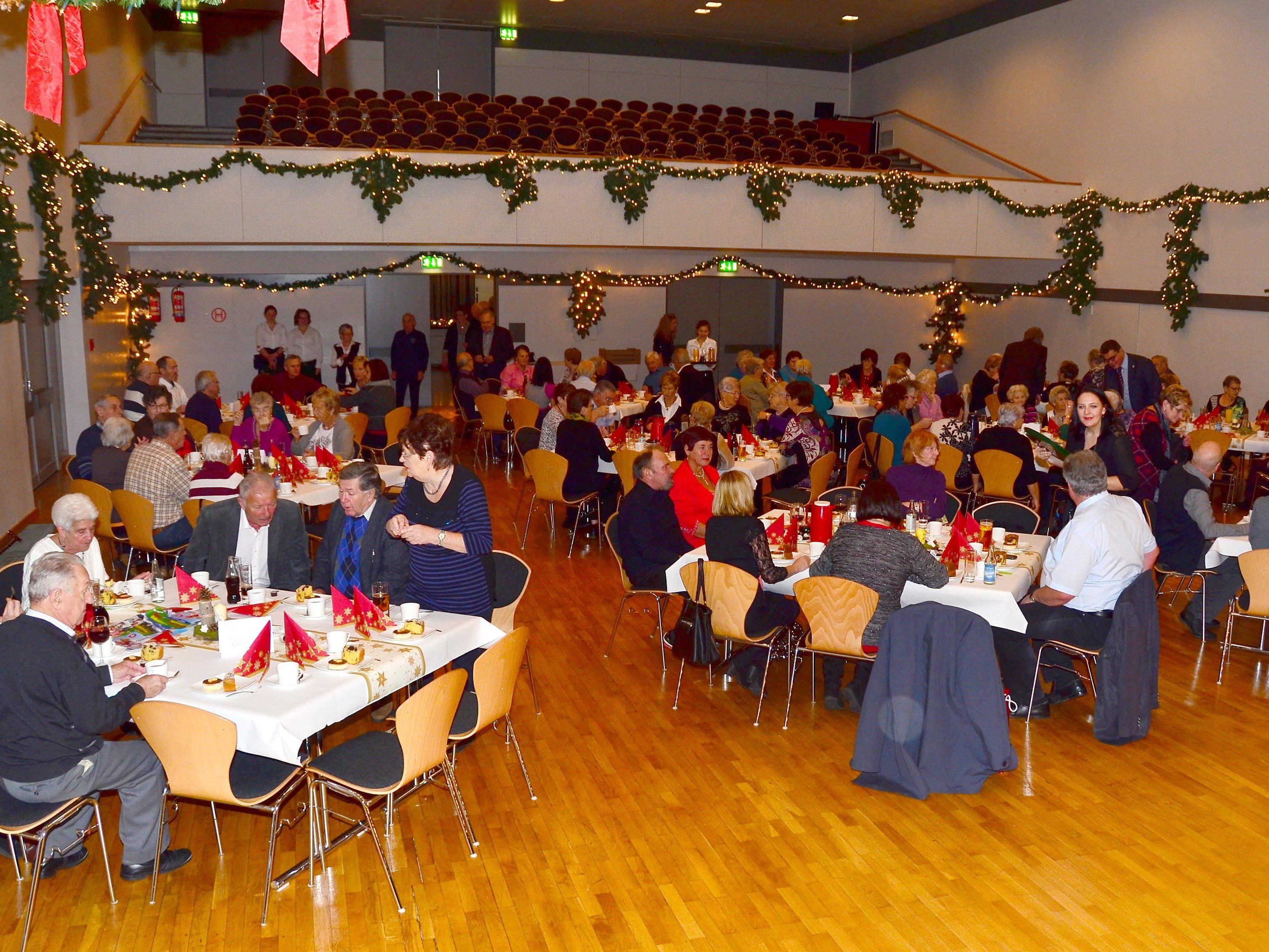 Weihnachtsfeier des PVÖ Bludenz