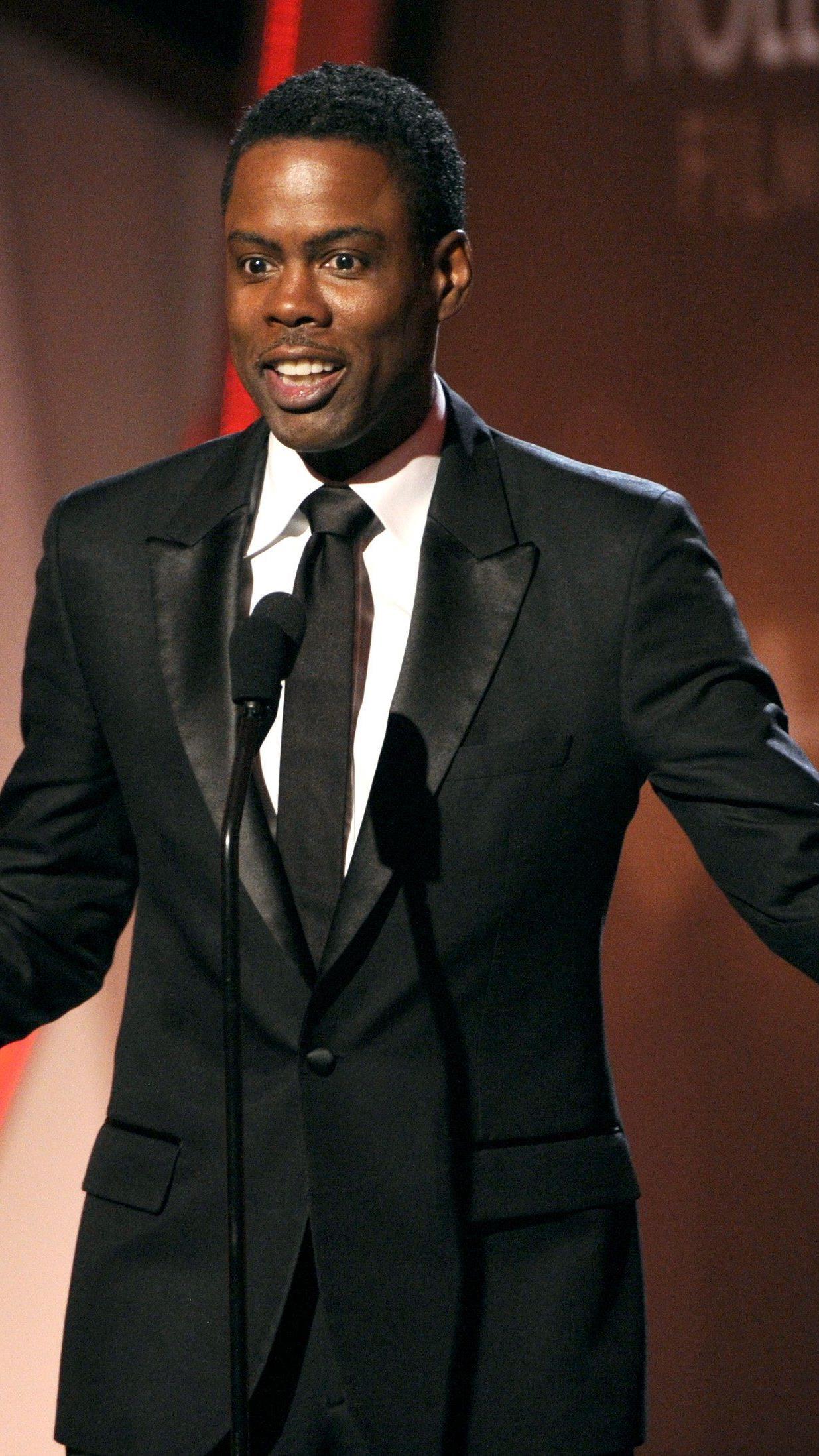 Chris Rock ist der bestbezahlte Komiker der Welt.