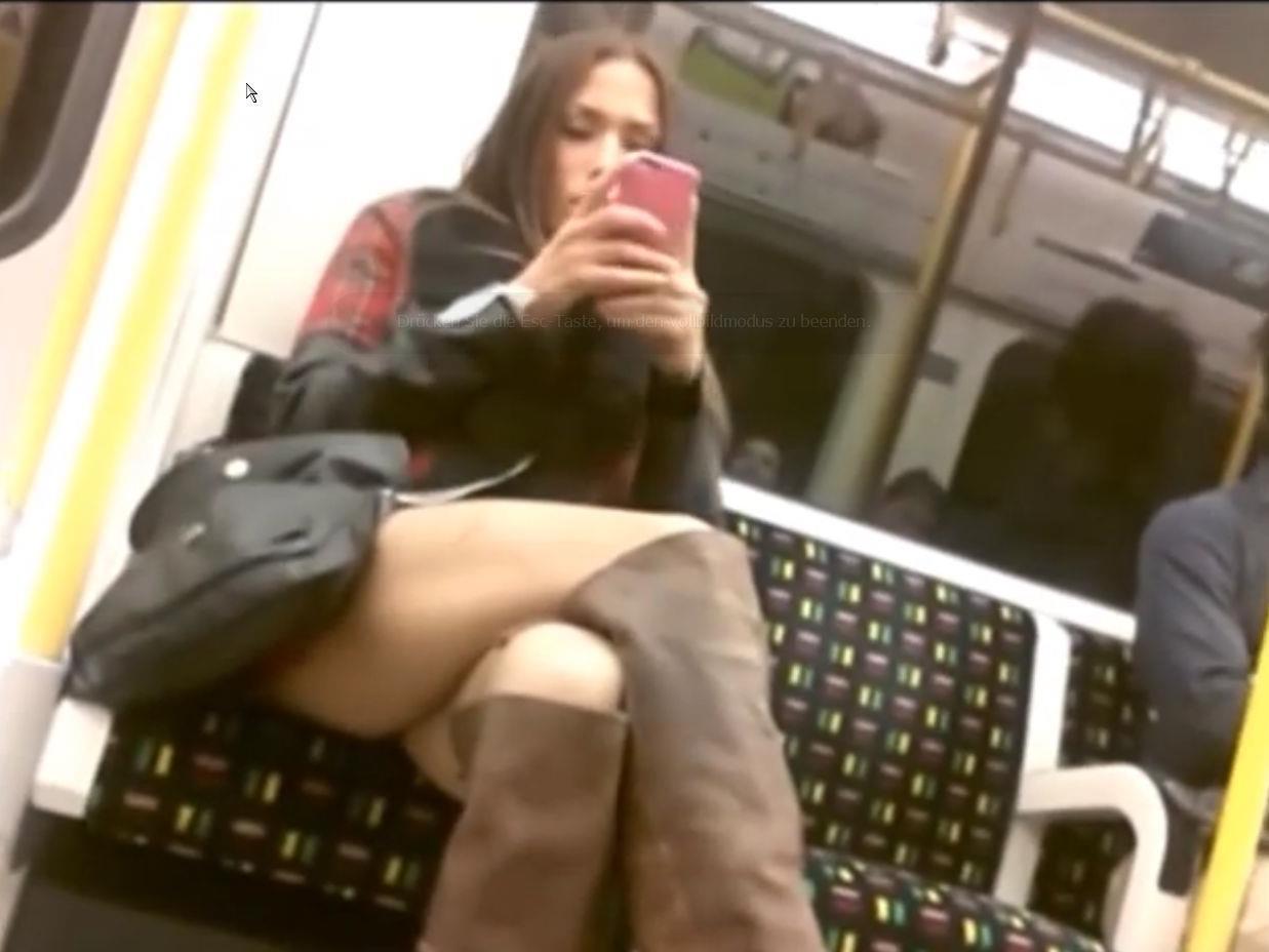 Diese Frau konnte sich manch verstohlenen Blick nicht verkneifen.
