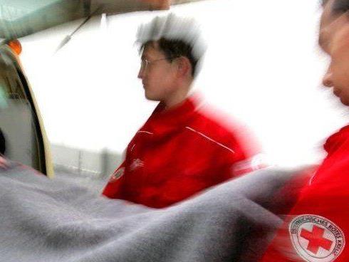 72-Jährige wurde mit der Rettung ins LKH Bregenz eingeliefert.