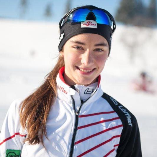 Die Schwarzenbergerin Jasmin Berchtold gewann die Juniorenklasse.