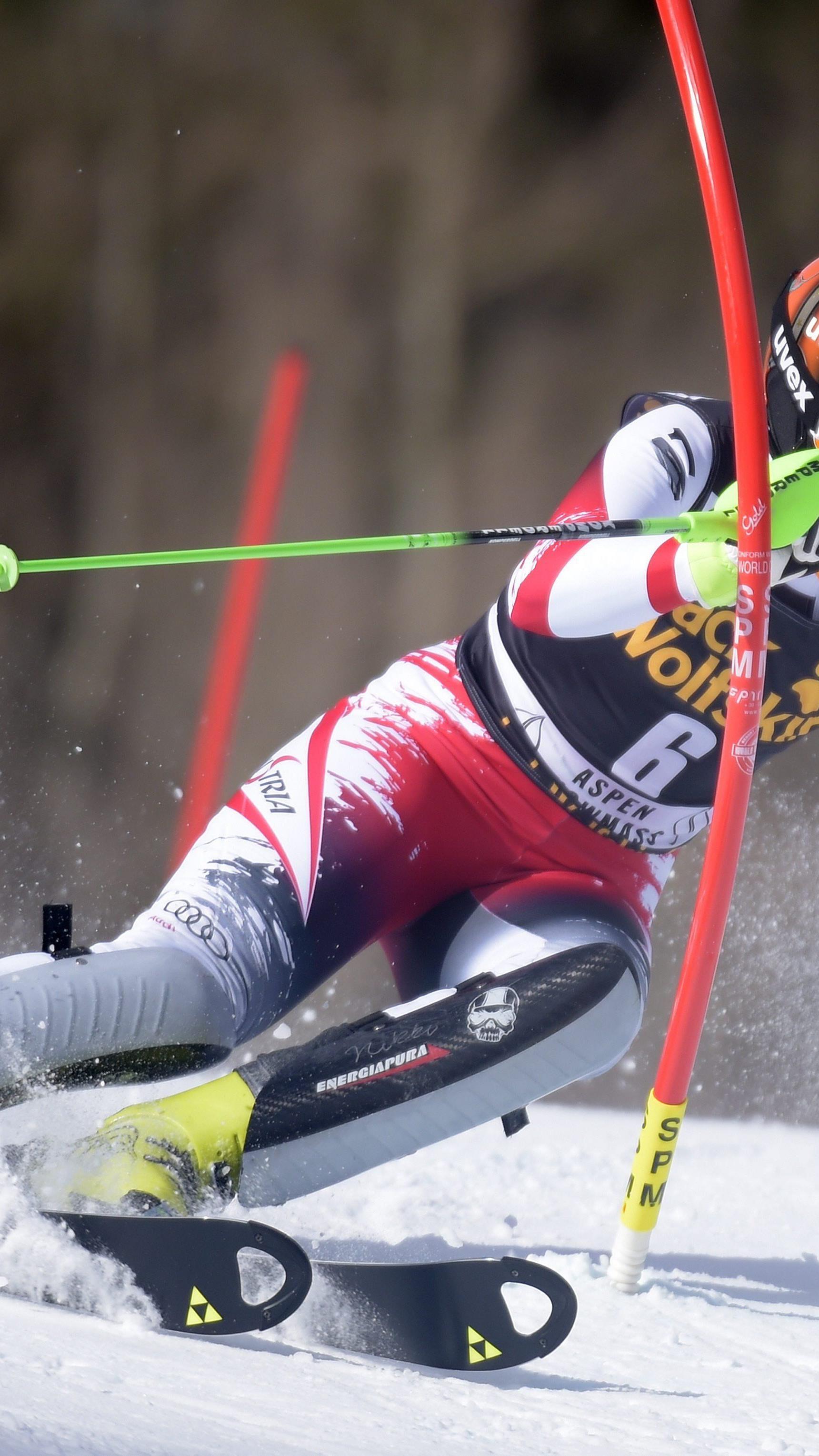 Nicole Hosp geht mit einem Sieg in Aspen in Norwegen an den Start.