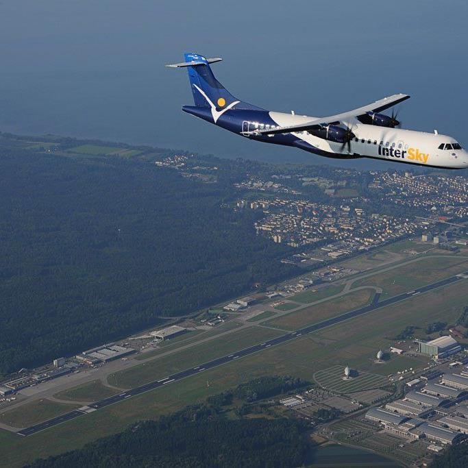 InterSky bedient Hamburg und Berlin in Zukunft auch von Memmingen aus.