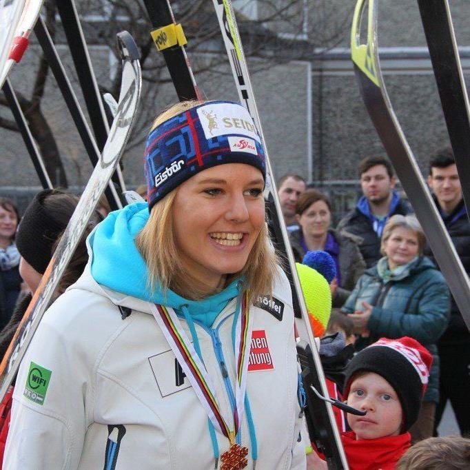 Weltmeisterin Lisl Kappaurer wurde Fünfte.
