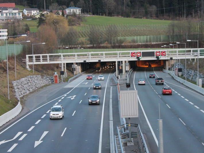 Der deutsche Lenker war sich der zweiten Pfändertunnelröhre in Richtung Vorarlberg noch nicht bewusst.
