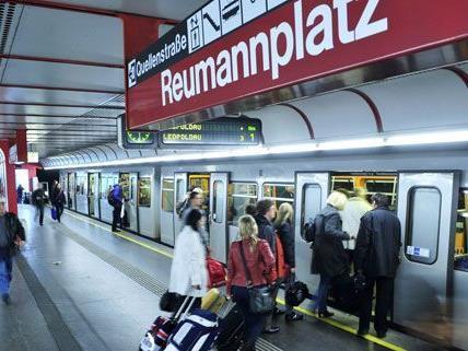 Die U-Bahn-Station Reumannplatz wurde gesperrt