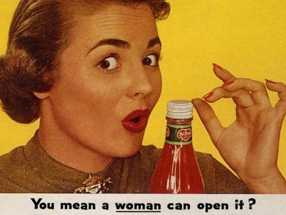 Sogar Frauen kriegen diesen Deckel von der Flasche...