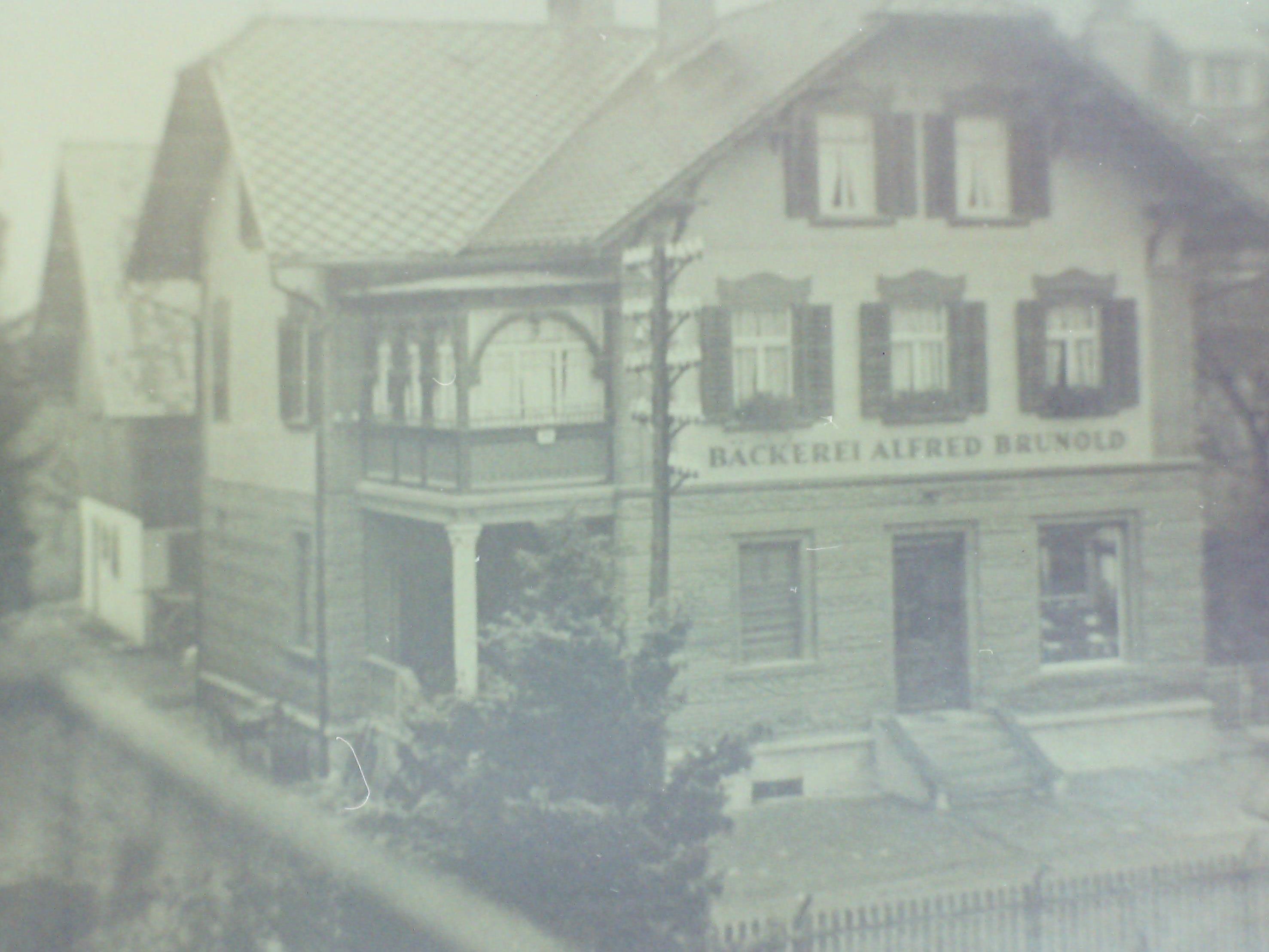 Bäckerei Brunold 1910
