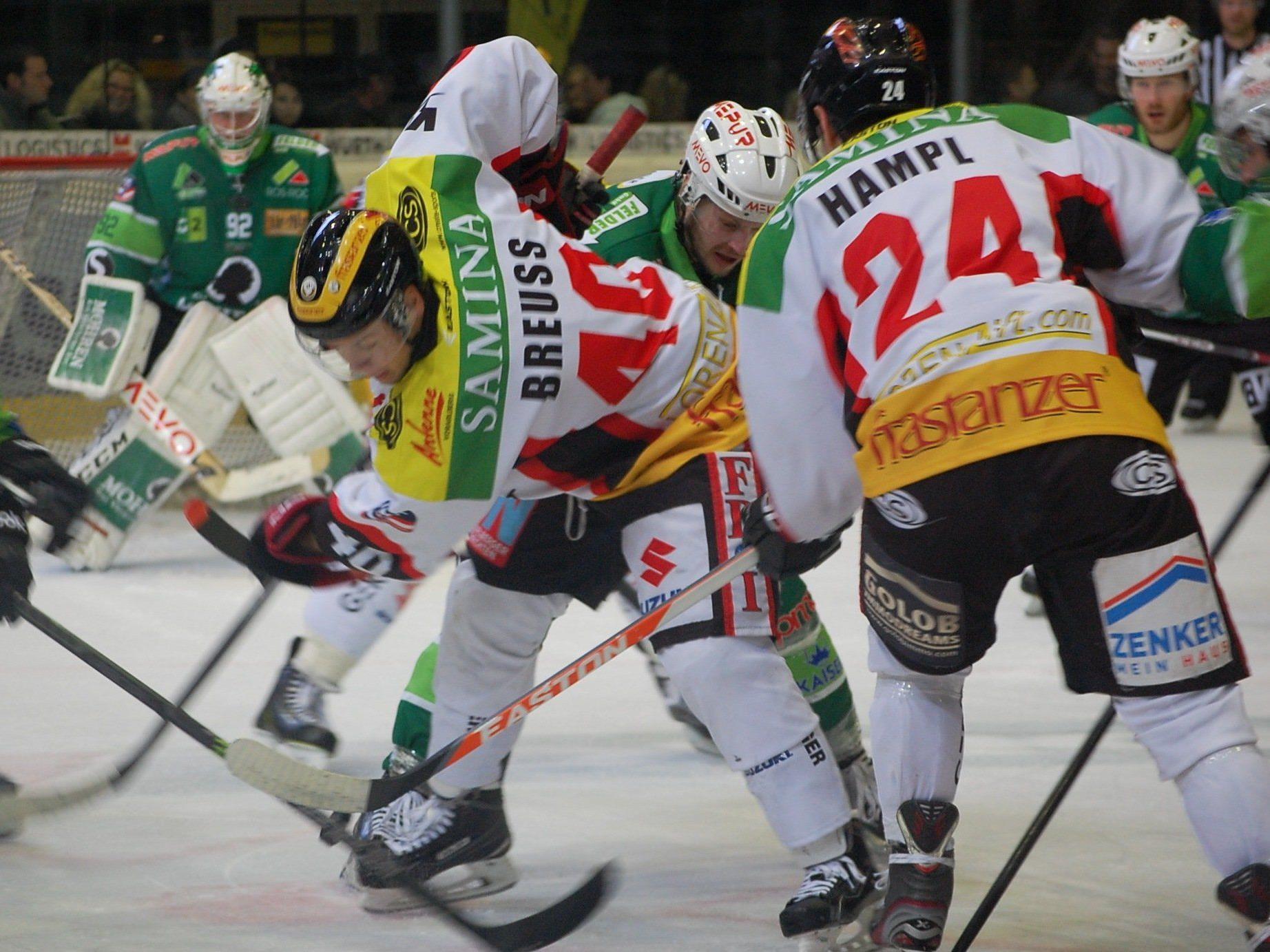 Das Derby gegen Feldkirch bot den Fans rassigen Eishockeysport.