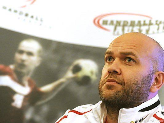 ÖHB-Teamchef Patrekur Johannesson