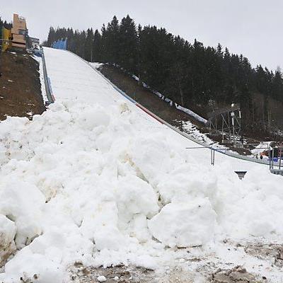 Kein Skispringen möglich