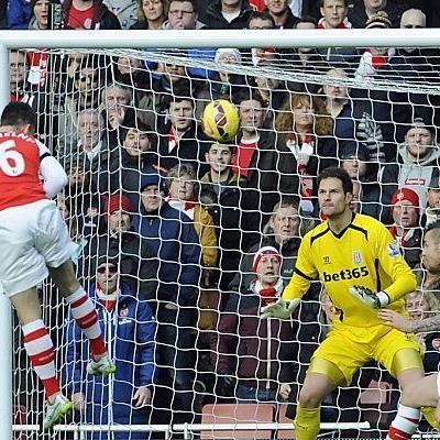 Laurent Koscielny traf zum 1:0 für Arsenal