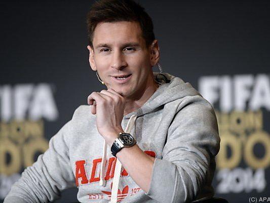 Messi lässt aufhorchen