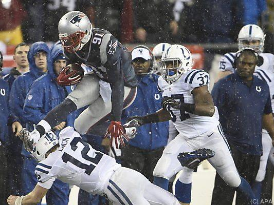 New England dominierte AFC Championship Game