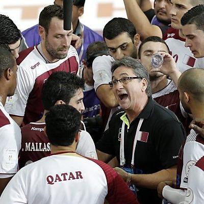 Coach Rivera schwört seine Truppe ein